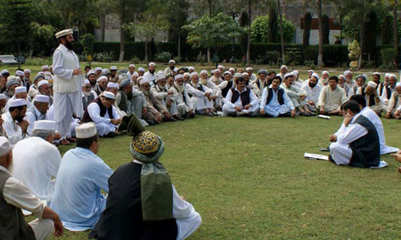 Delegation of religious scholars and ulema was briefed about return of normalcy and peace in the region. — File photo