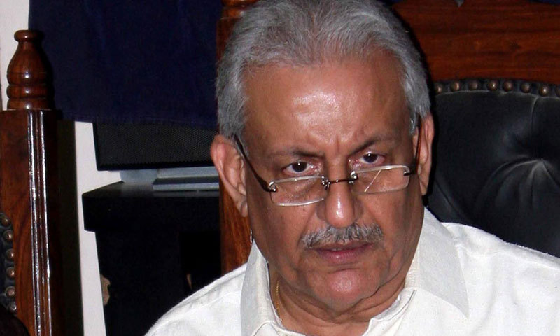 Former Senate chairman and PPP stalwart Raza Rabbani presented the 'Exit from Pakistan (Control) (Amendment) Act, 2018' during a meeting of the committee today. — File photo