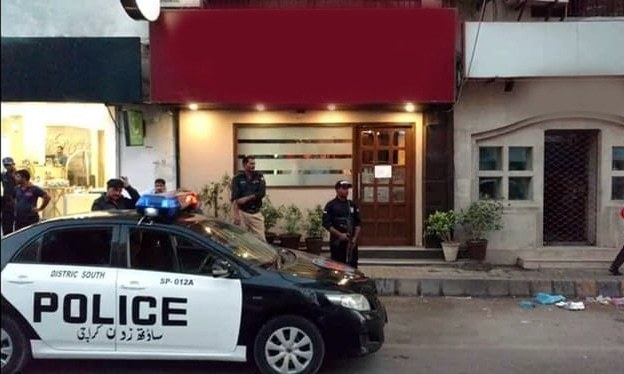 Two employees of the restaurant have already been detained and booked. ─ DawnNewsTV