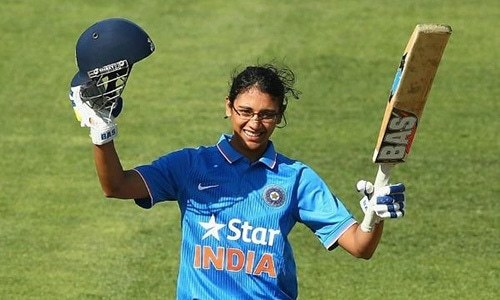 India´s Mandhana named ICC women´s cricketer of the year