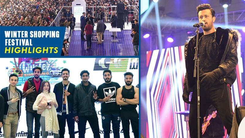 Atif Aslam, Nusrat Hidayatullah, Torsam Tajik and others celebrated the year-end fest with Lahore.