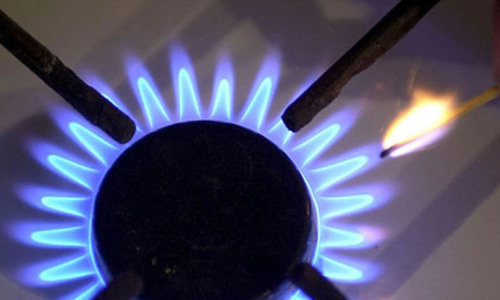 """""""Low gas pressure is a routine matter in our area. So are inflated gas bills in the winter despite cut in the natural gas supply,"""" a resident of Township said. ─ File photo"""