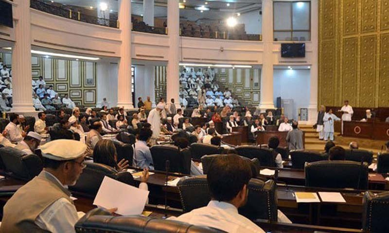 Proposal to be discussed by KP cabinet today. ─ File photo