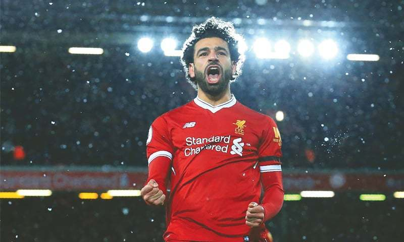 Sadio Mane, Mohamed Salah and Pierre-Emerick Aubameyang in African award running