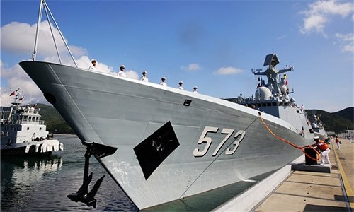 The vessel exported to Pakistan is said to be based on Type 054A, pictured above. — Photo courtesy China Daily