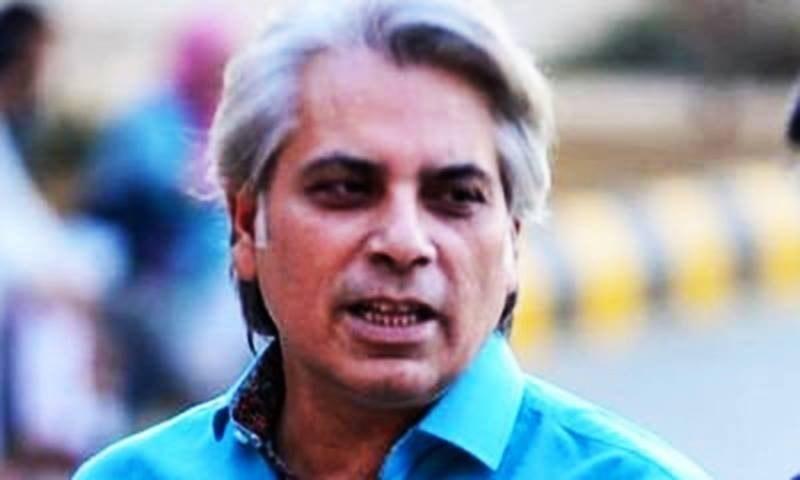 Twitter sends prominent journalist Mubashir Zaidi a notice. — Twitter/Mubashir Zaidi
