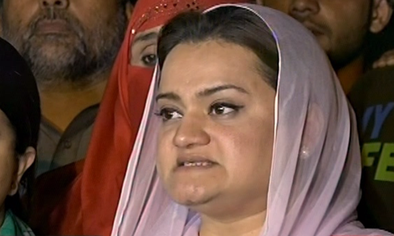 PML-N central spokesperson Marriyum Aurangzeb demanded that in the aftermath of the Farrukh Saleem episode, the appointment notifications of the prime minister's entire cabinet must be shared to avoid further confusion. — File photo
