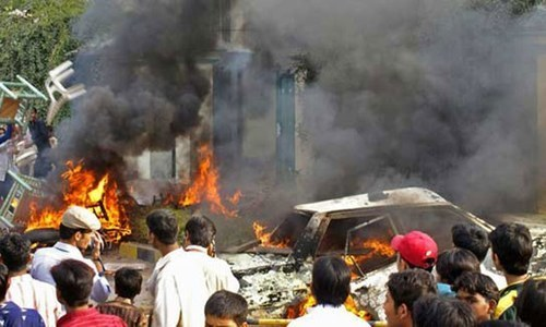 Around 50 people were killed and over 100 wounded in attacks on rallies organised by political parties and the legal fraternity in May 12 riots. — File photo
