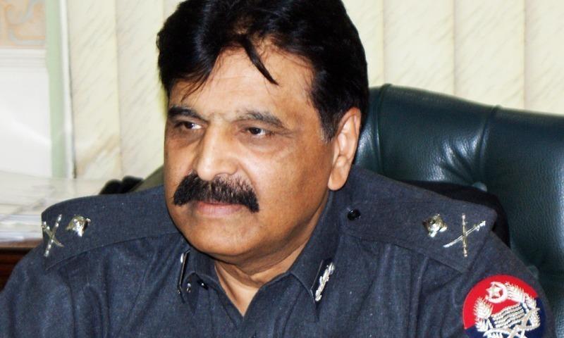 Amjad Javed Saleemi is the serving Inspector General of Police in Punjab. — File