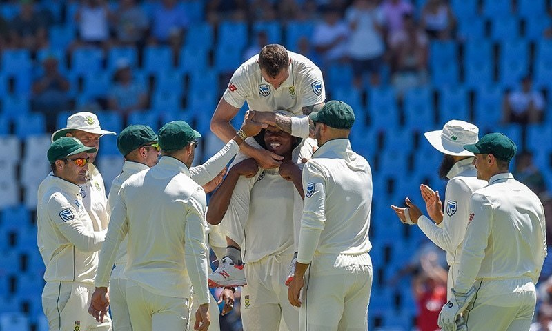 South Africa have so far dominated Pakistan in the ongoing Test series. — File