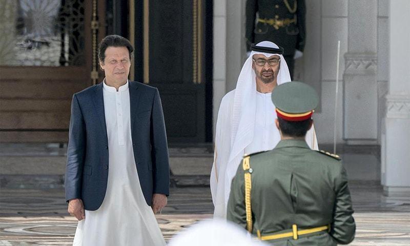 متحدہ عرب امارات کے ولی عہد پاکستان کا دو روزہ دورہ کریں گے—فائل فوٹو