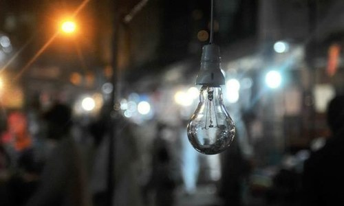 Major power distribution companies started observing frequent outages without any schedule due to increasing shortfall. — File
