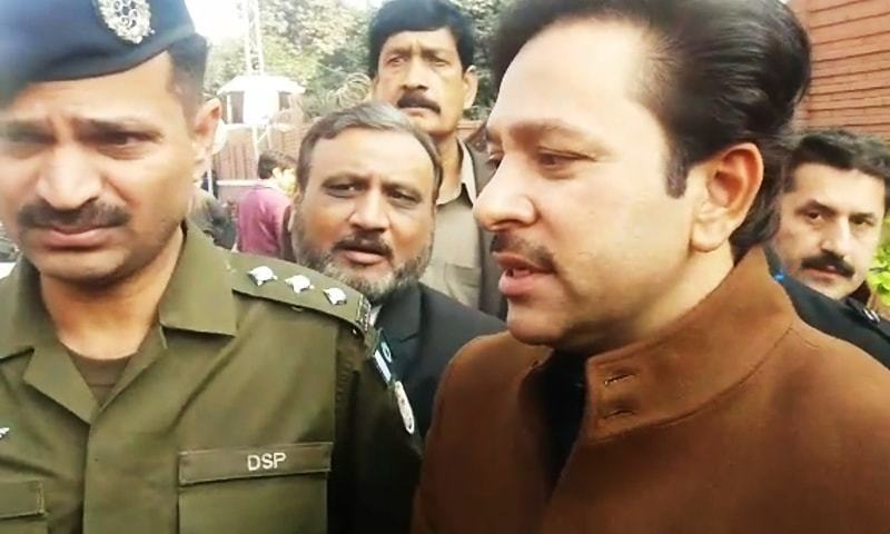 On Dec 25, Afzal Khokhar was arrested outside the SC Lahore registry. — File photo