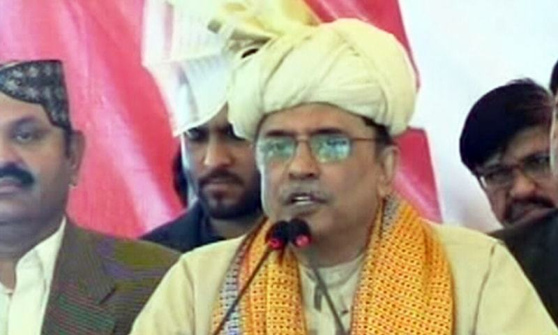 PPP co-Chairman Asif Ali Zardari says he won elections even when he was in jail. — File photo