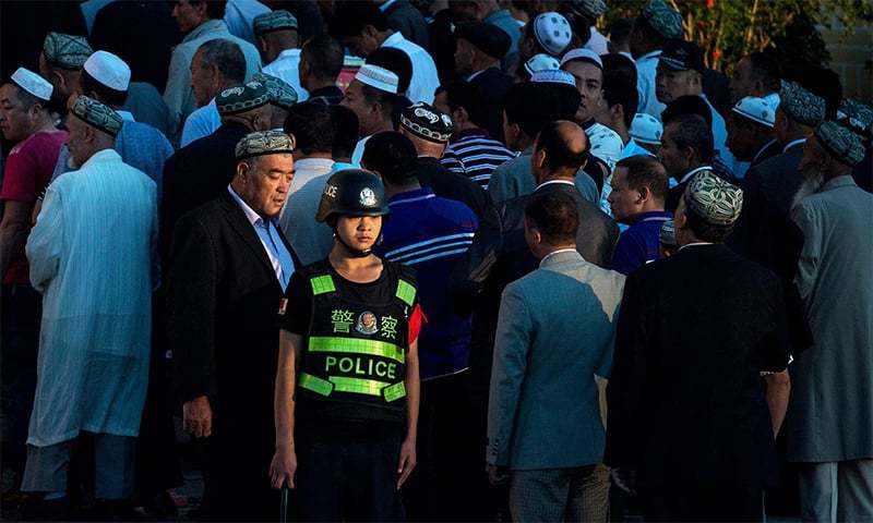 Beijing has faced global outcry over mass detentions and strict surveillance of Muslim minority that call Xinjiang home. — File photo