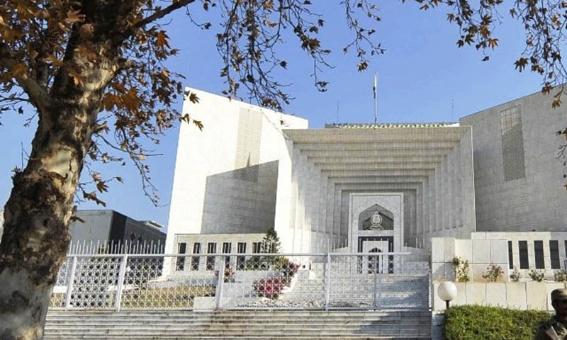 Justice Azmat Saeed warns NAB, Suparco of contempt of court proceedings.— AFP/File