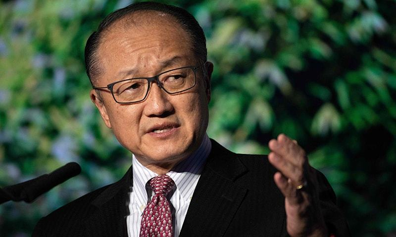 World Bank president Jim Yong Kim to resign, unexpectedly