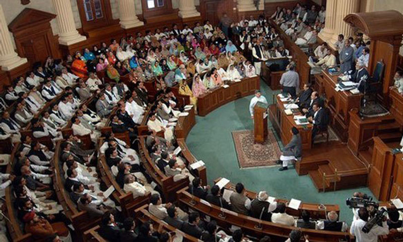 View of the Punjab Assembly. — File photo