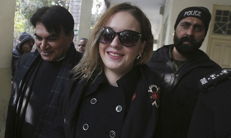 21-year-old Tereza Hluskova pleaded innocent and faces up to 10 years in prison if convicted. —AP