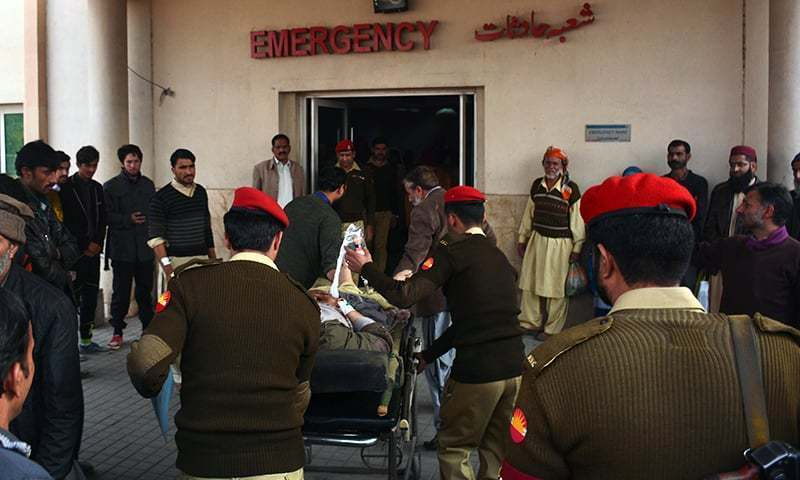 Mortar shell landed in courtyard of a house in Bugna village in Neelum district, killing Sajida Bibi, a mother of six. —AFP/File