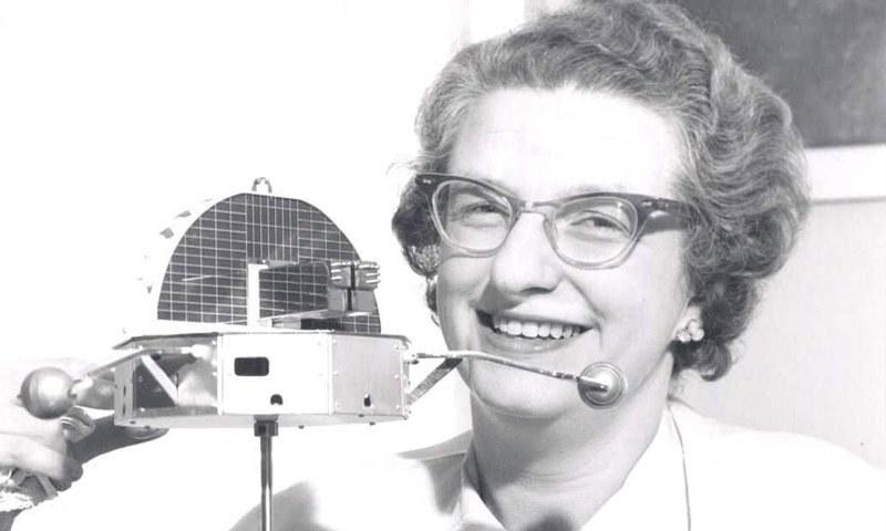 نینسی گریس رومن کا انتقال 95 برس کی عمر میں ہوا—فائل فوٹو: ناسا