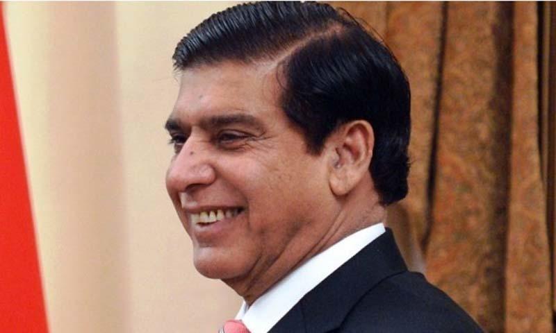 Former prime minister Raja Pervez Ashraf.— AFP/File