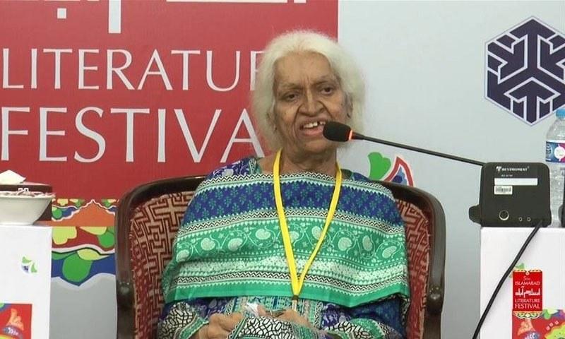 انہوں نے 60 کی دہائی میں اپنے بہترین کام سے مقبولیت حاصل کی —فوٹو بشکریہ/ کراچی لٹریچر فیسٹیول