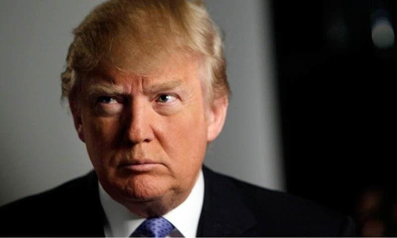 امریکی صدر ڈونلڈ ٹرمپ—فائل فوٹو