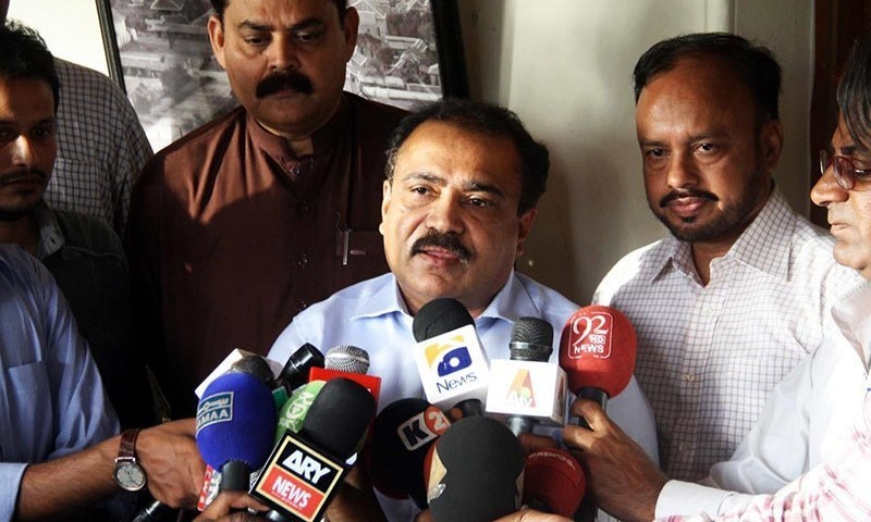MQM-P's Kanwar Naveed Jamil says PPP is punishing the people of Hyderabad for electing MQM-P. ─ Online/File
