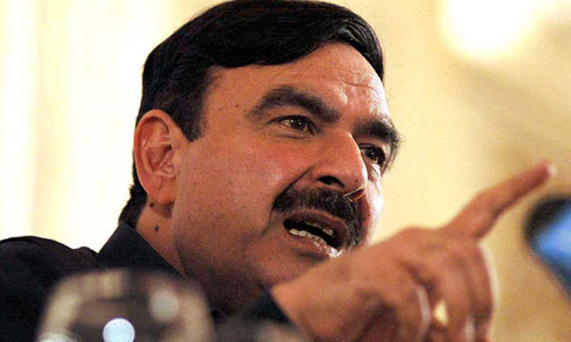 Railways minister Sheikh Rashid says he will ask Prime Minister Imran Khan to accommodate him as a Public Accounts Committee member. ─ File photo