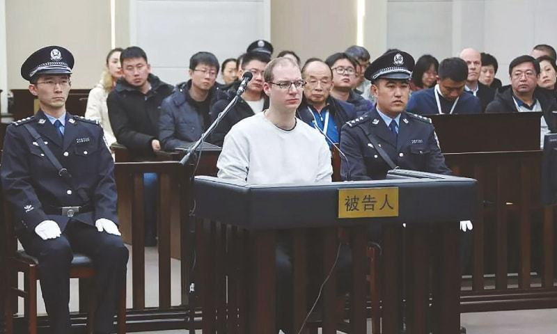 Death sentence heightens Canada-China tensions