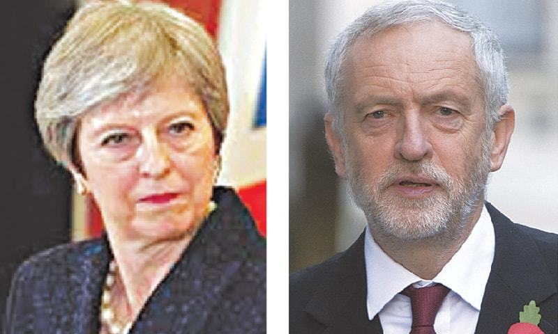 Prime Minister Theresa May / Labour leader Jeremy Corbyn