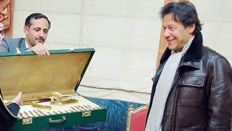 What use is this to IK?... We're not sure yet - but he seems extremely happy to be receiving it.