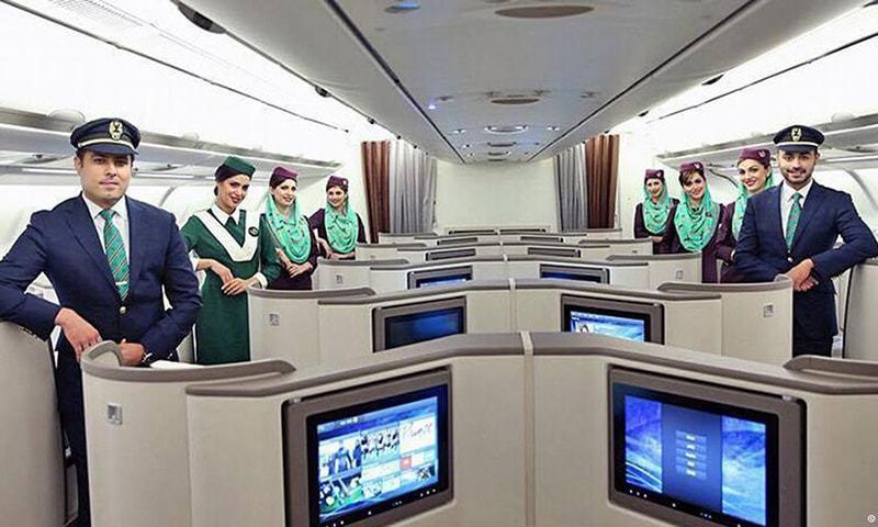 The Qaseeda Burda Sharif, a popular Islamic hymn, will be played while passengers board PIA airplanes. — Photo: PIA/File