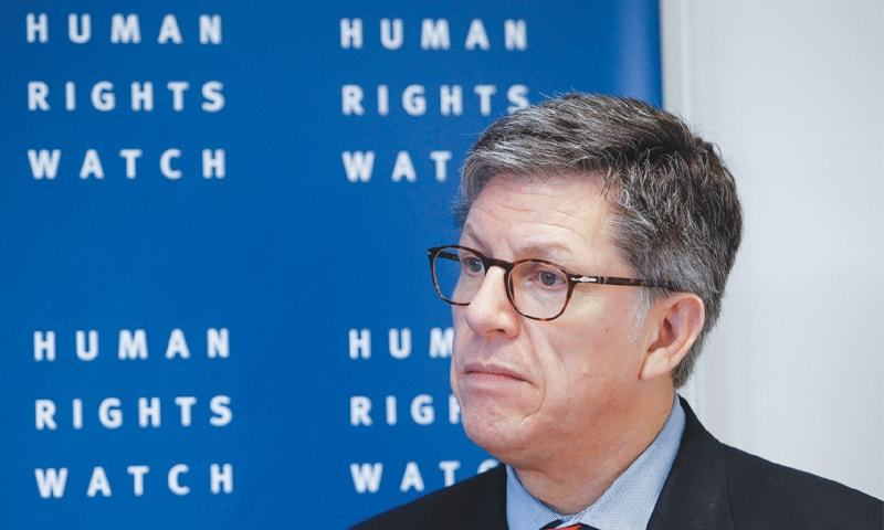 Sao Paulo (Brazil): Jose Miguel Vivanco, Human Rights Watch director for the Americas—AFP