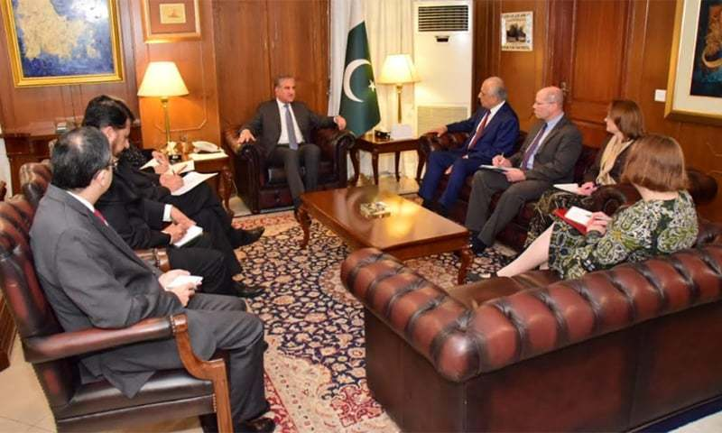 Special envoy in Pakistan for talks on Afghan peace