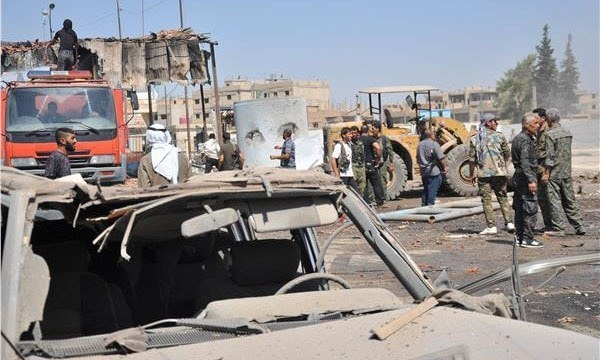 The blast comes a week after the Al Qaeda-linked HTS took over control of wide parts of Idlib province.— AFP/File