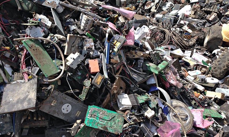 Pakistan signed the Basel Convention to control the trans-boundary movement of obsolete and hazardous waste from wealthy developed countries and its disposal in 1994. ─ File photo