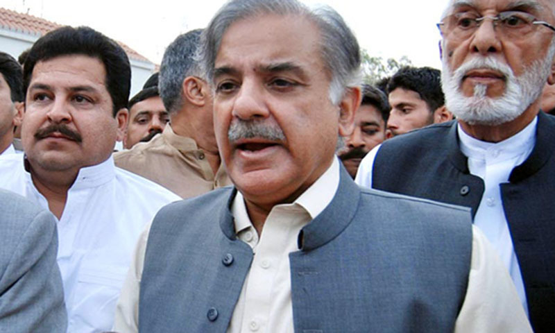 Leader of the Opposition in the National Assembly Shahbaz Sharif approaches court 47 days after an accountability court sent him on judicial remand. — File photo