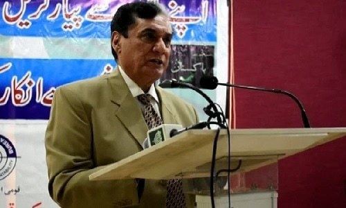 Bureau's commitment is only with Pakistan, says NAB Chairman retd Justice Javed Iqbal. — File photo
