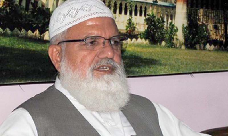 A file photo of Jamaat-i-Islami (JI) secretary general Liaquat Baloch.
