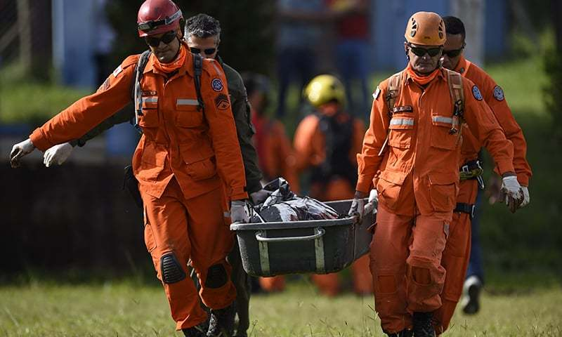 Rescuers diverted to second Brazilian dam in danger of collapse