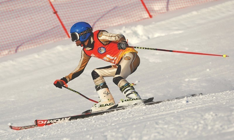 Top national skiers will also be seen in action on the treacherous slopes of the Naltar ski resort. — File photo