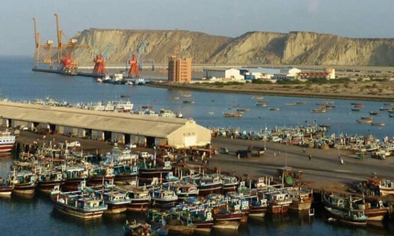 """""""Gwadar Eastbay Expressway should have been 200 feet,"""" said fishermen after visiting expressway's site. — File photo"""