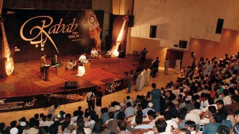 'No literary or cultural event has been held in Nishtar Hall since PTI came to power'   Shahbaz Butt/White Star