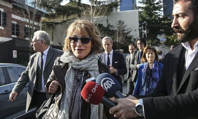 اقوام متحدہ کی 3 رکنی ٹیم ترکی کے ایک ہفتے کے دورے پر ہے — فوٹو: اے پی