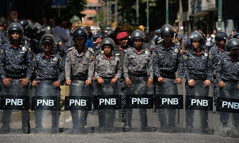Venezuela: Authorities arrests French, Colombian, Spanish journalists covering reports ousting Maduro