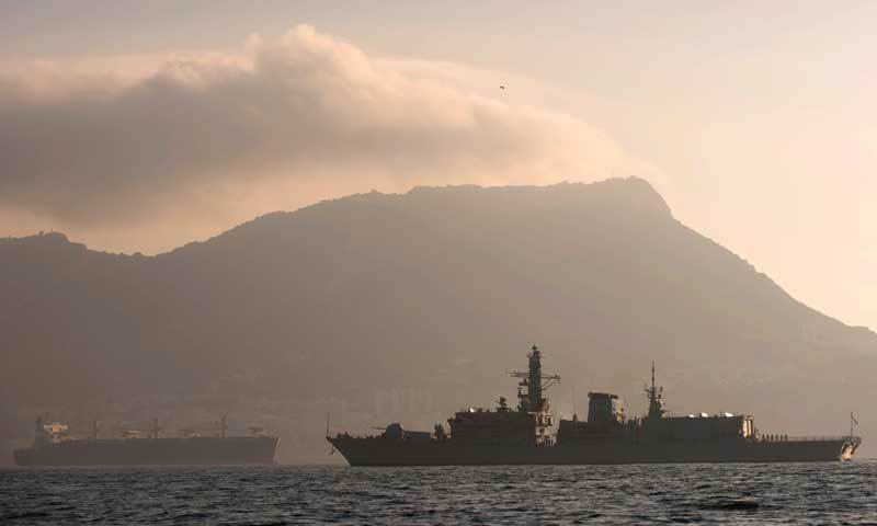 No 10 hits out at EU's claim Gibraltar is a British colony