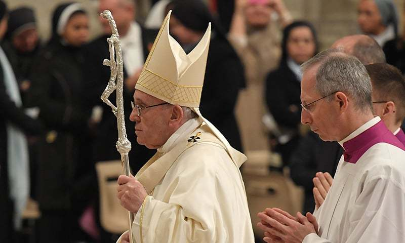 Pope Francis Holds Historic Public Mass Service In United Arab Emirates