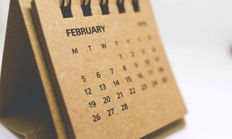 کبھی سوچا کہ آخر صرف فروری کا مہیھنہ ہی کیوں 28 دنوں پر مشتمل ہے— شٹر اسٹاک فوٹو